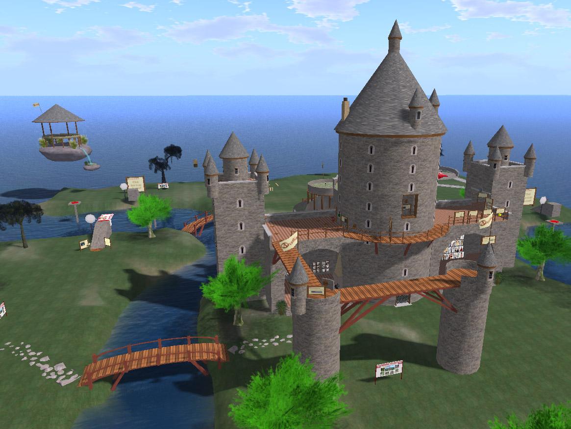 Arcadia, the orientation island.