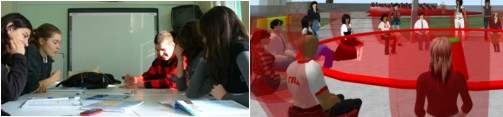Classroom interaction and telecollaboration
